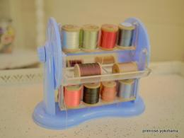 Plastic Blue Spinning FERRIS WHEEL SEWING